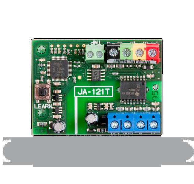 Konwerter (JA-121T): magistrala - RS-485 (ASCII)