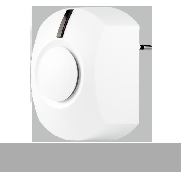 Bezprzewodowa 2-kierunkowa syrena wewnętrzna (zasilanie z gniazda 230V + bateryjne)