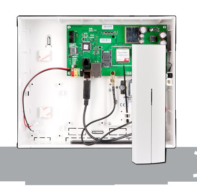 Centrala alarmowa JA-101KR-LAN (GSM, LAN) + JA-110R